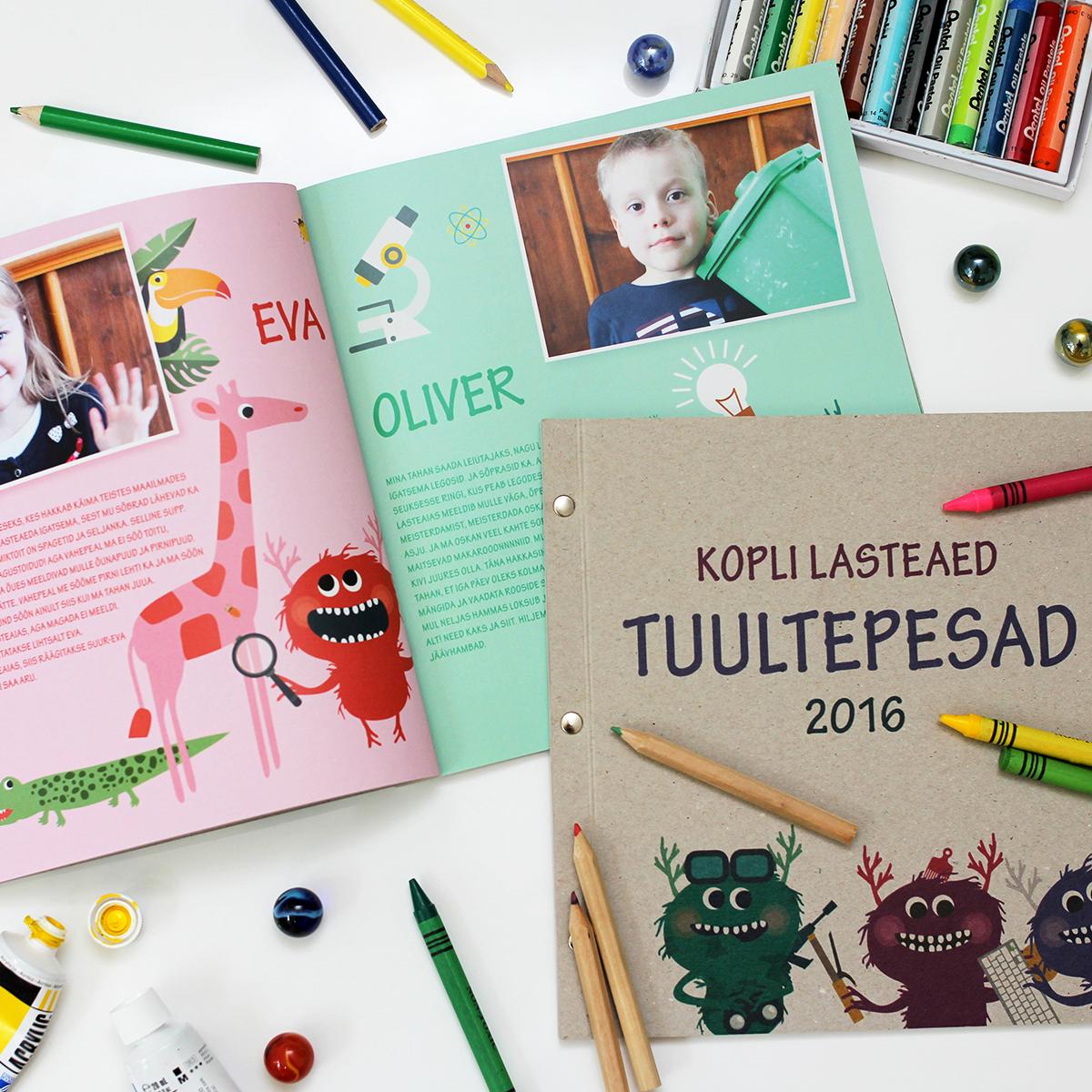 Lasteaia lõpetamise raamat, Kopli Lasteaed